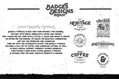 Brawls Typeface  Bonus Product Image 3