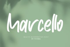 Marcello | Beauty Handwritten Font Product Image 1