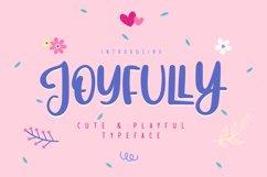 Joyfully   Cute & Playful Typeface Product Image 1