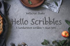 Hello Scribbles - Handwritten font Product Image 1