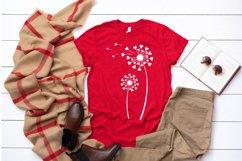 Dandelion svg | Dandelion | Flower svg | Heart Dandelion svg Product Image 2