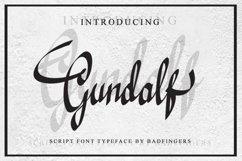 Gundalf font Product Image 1