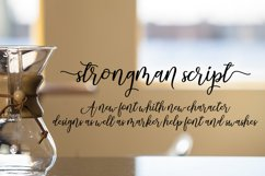 Strongman Script Product Image 5
