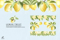Lemon Twist Graphic Illustrations and patterns Product Image 4