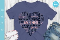 Mother Svg, Mom Quotes Svg, Mother's Day Svg Product Image 2