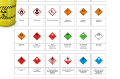 35 Symbol Chemicals Warning GHS SVG AI EPS Product Image 3