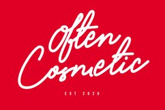 Ollia - Simple Signature Font Product Image 5