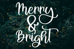A Holiday Story - A Christmas Hand-Written Font Trio Product Image 4