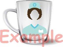 Doctor Medic Props SVG Nurse hospital medicine 207S Product Image 3