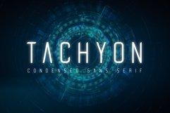 Tachyon Font - Condensed Sans Serif Product Image 1