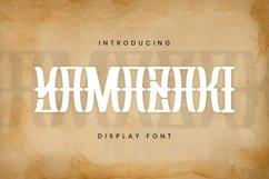 Yamazaki Font Product Image 1