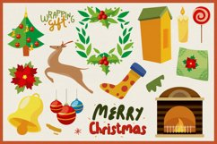 Christmas Decoration Vector Clipart Pack Product Image 3
