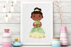 Cute Princess Clip art Set 2 Product Image 4