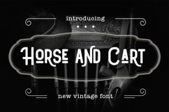 Horse and Cart Product Image 1