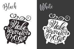 Halloween hand drawn Quotes SVG Cut files Product Image 5
