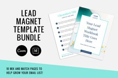 Lead Magnet / Workbook / Email Opt-In / Canva & Indd Product Image 1