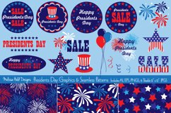 Presidents Day Graphics & Seamless Patterns Product Image 1