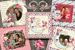 Valentine Frame Clusters and Quick Pages Product Image 4