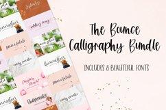 Bounce Calligraphy Font Bundle Product Image 1