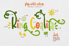 King Coalifa - A Cute Crafted Font Product Image 8