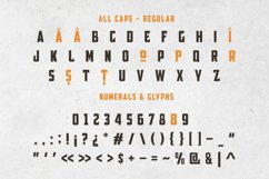 Broscoi - Vintage Font Family - Free font demo link included Product Image 3