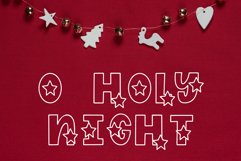 Shine Bright, Star Font Product Image 4