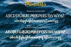 Monalisa Script Product Image 6