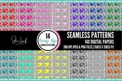Sexy Lip Seamless Patterns Product Image 1