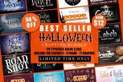 Best SELLER - Halloween Crafting Font BUNDLE Product Image 1