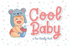 Cool Baby - A Fun Family Font Product Image 1