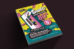 80's Music Event Flyer Product Image 2
