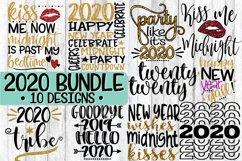 2020 - New Year's Eve Bundle - 10 Designs - SVG PNG EPS DXF Product Image 1