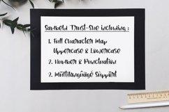 Sambeld Trust-She // Delicious Handwritten Font Product Image 6