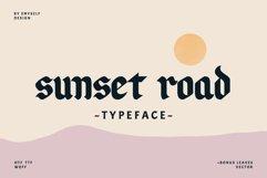 Sunset Road Typeface Product Image 1