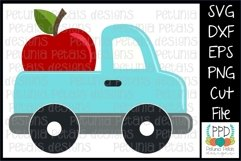 Apple Pickup Truck SVG 11296 Product Image 1