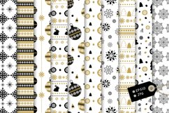 20 Winter seamless patterns Product Image 6