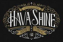 Hava Shine Typeface Product Image 1
