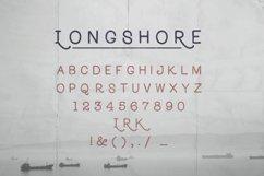 Longshore - Hand Drawn Font Product Image 4