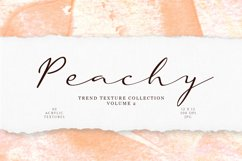 Peachy Acrylic Textures Product Image 1