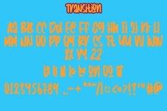 Web Font Transition - Handwritten Fonts Product Image 3