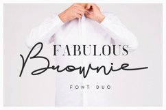 Brownie Font Duo Product Image 1