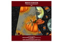 Halloween Digital Paper Pack Halloween Witch Product Image 6