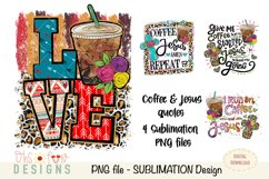 Sublimation bundle | coffee Jesus cross| animal prints Product Image 1