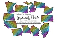 Midwest Pride States Clip Art Product Image 1