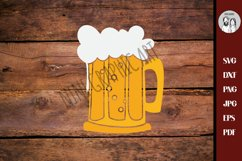 Beer mug svg, drink svg-beer svg-Cricut silhouette Product Image 3
