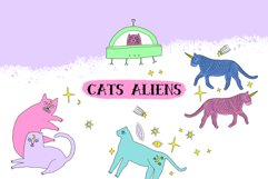 Magical Cats Aliens Set Product Image 1