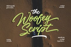 The Woofey Script Typeface Product Image 1