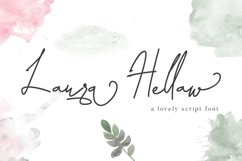 Laura Hellaw a lovely script font Product Image 1