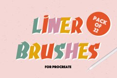 LINER BRUSHES FOR PROCREATE Product Image 1