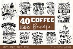 Coffee SVG bundle 40 designs Coffee SVG bundle Product Image 4